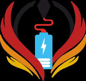 Teamlogo In-Produkt denkt elektrisch